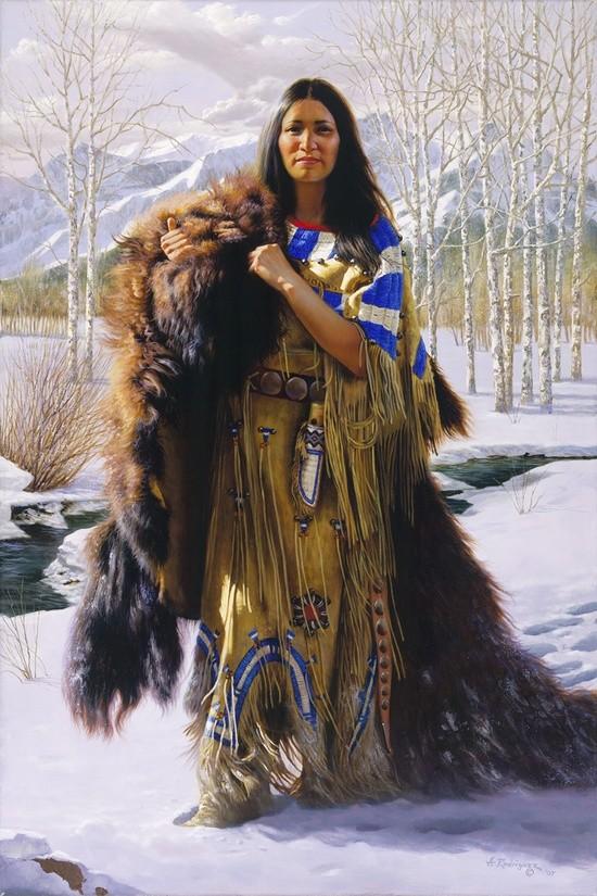 amerindian costum dama