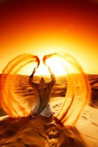 Meditaţii în deşert care te pot bulversa psihic