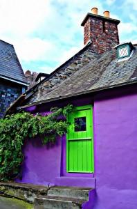 casa colorata Irlanda