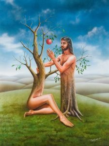 Declarație de dragoste emoționantă - Eva către Adam