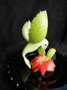 colibri din mere