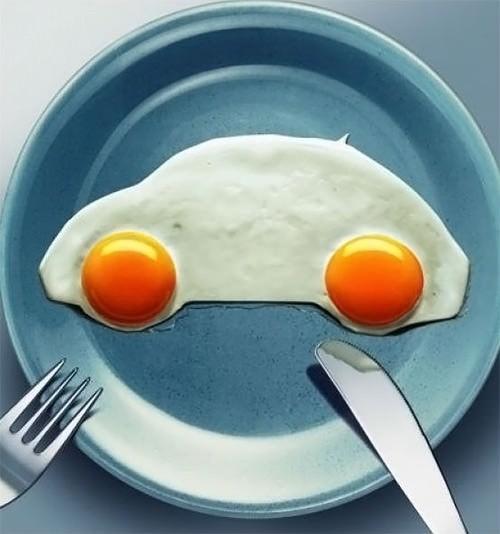 masina din oua prajite