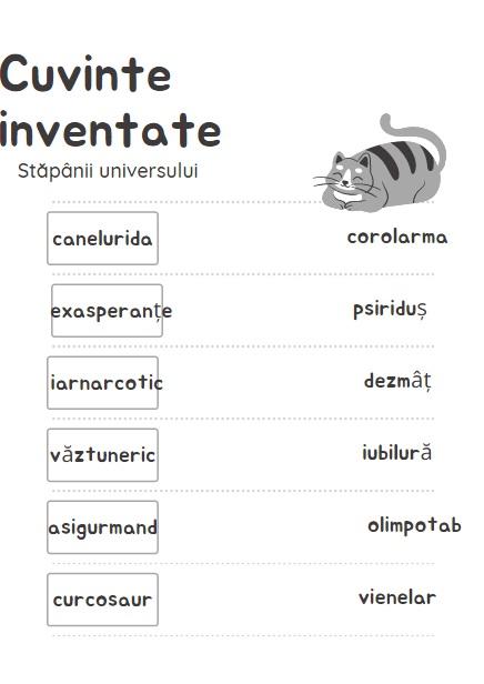 cuvinte inventate
