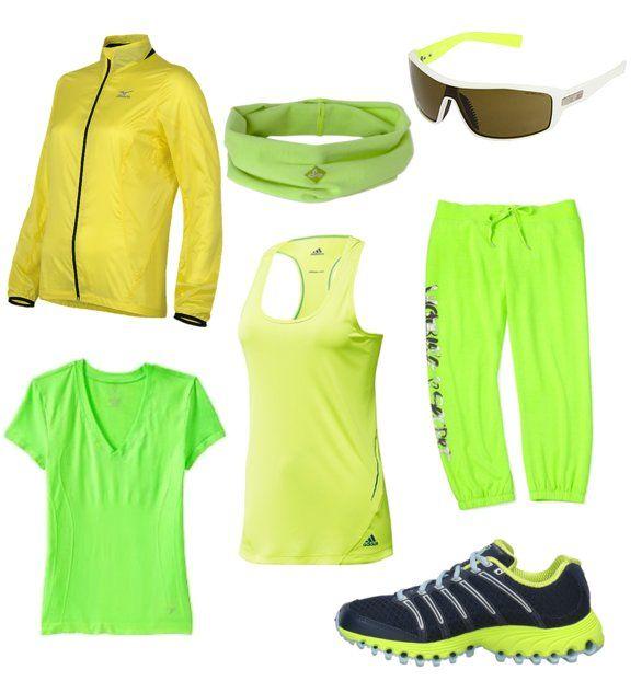 haine verde neon