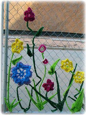 flori in gard