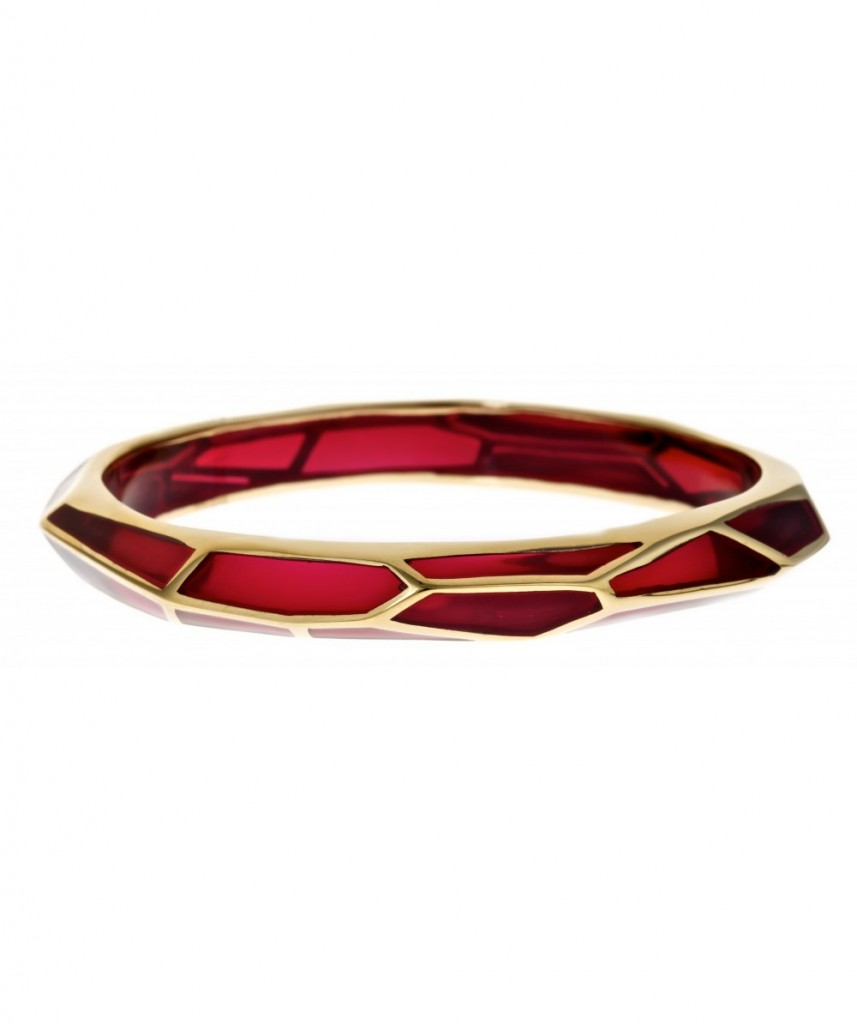 isharya_bratara_raspberry_translucent_resin_18k_gold_plated_brass_700ron