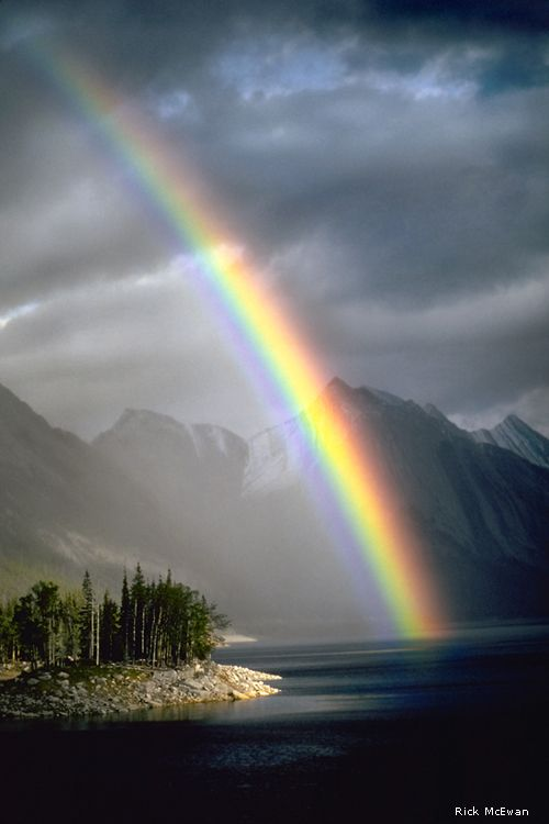 Medicine Lake, Jasper National Park, Alberta Canada