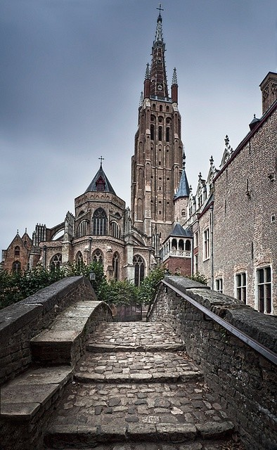 church of our lady, Bruges, Belgia