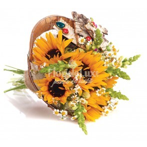 buchet_mireasa_floarea-soarelui