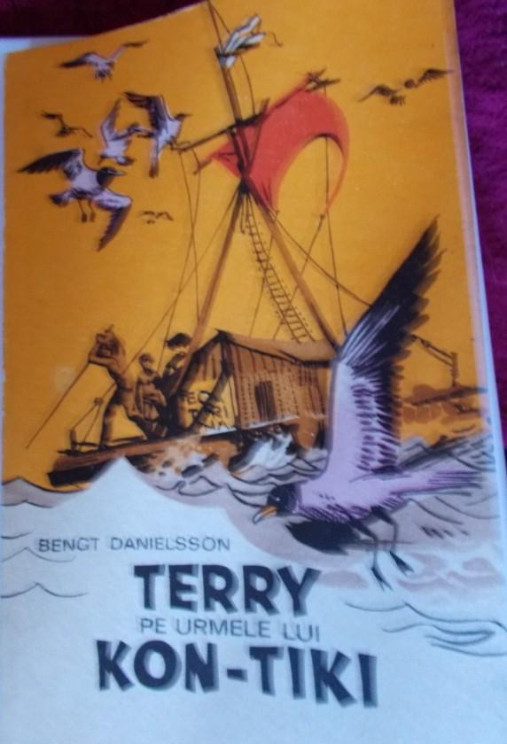 carte pentru copii terry pe urmele lui kon-tiki