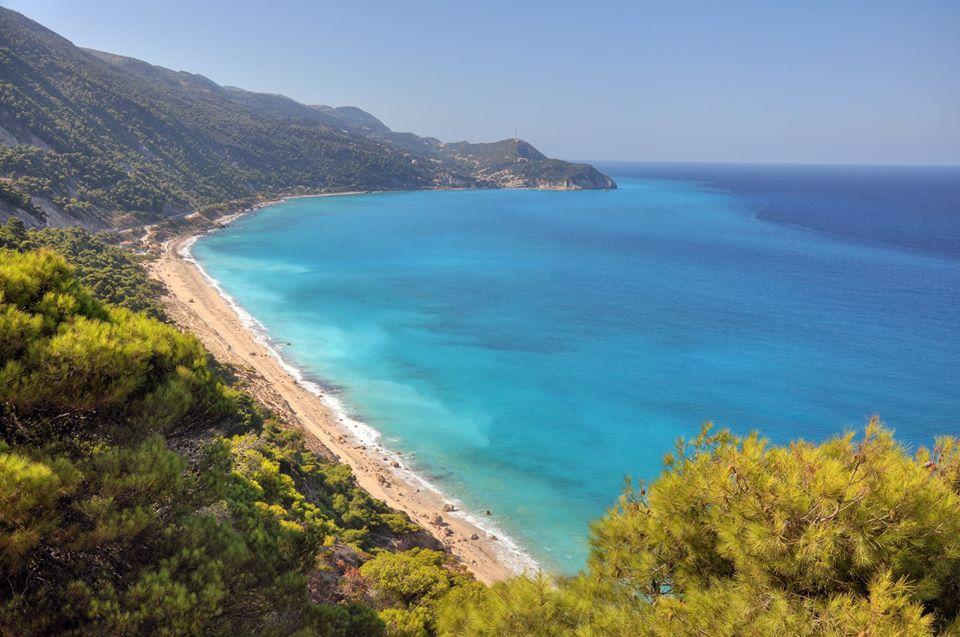 insula lefkada grecia