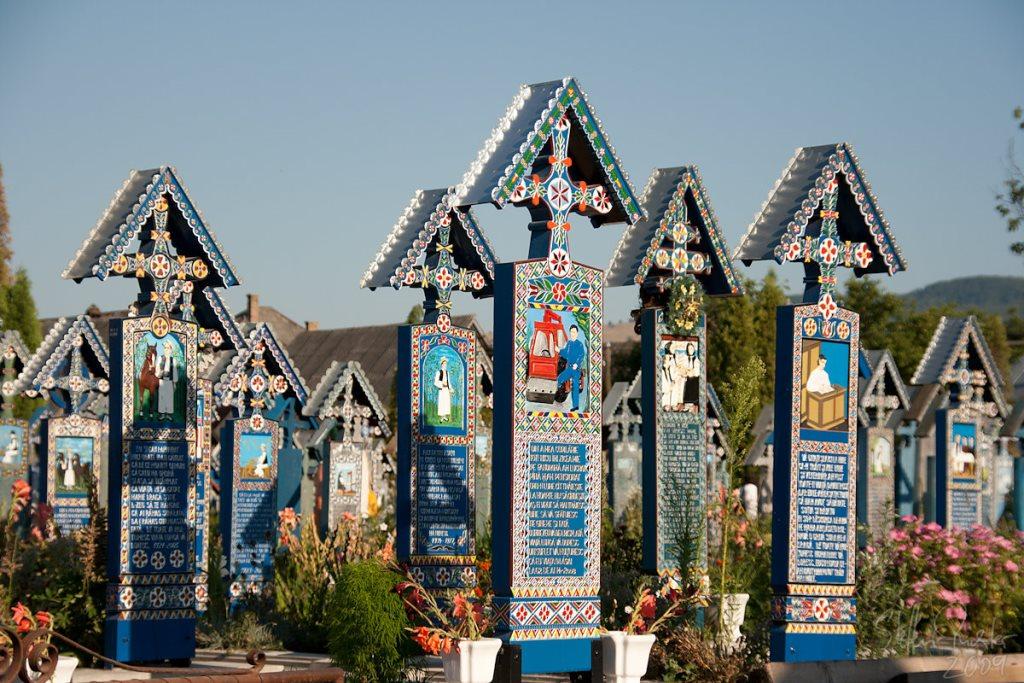 Merry Cemetery in Săpânţa