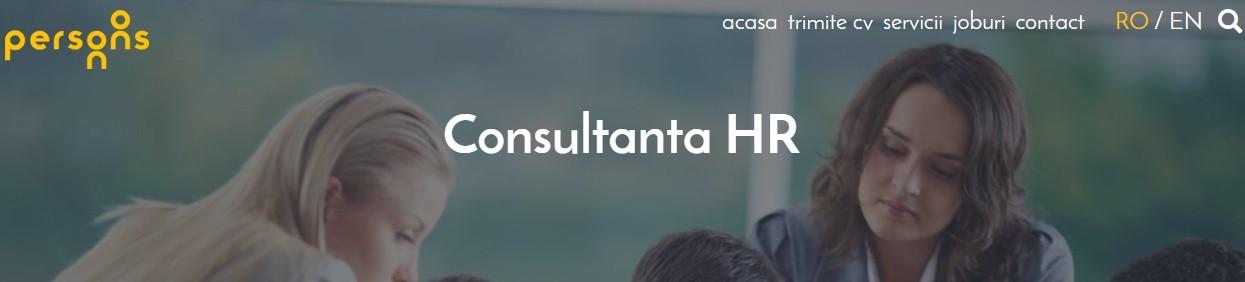 consultanta in hr