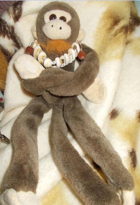sehasela maimutica cu cercei