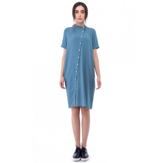 rochie-camasa-asimetrica-aqua-blue